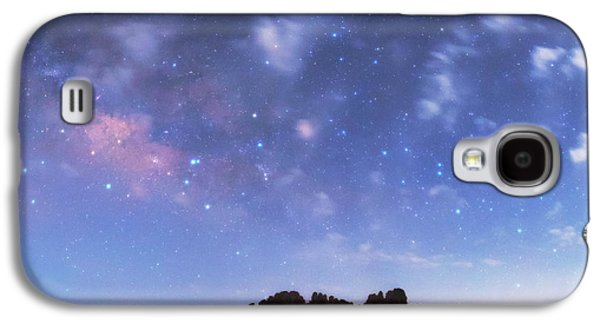 Milky Way Over The Sahara Desert Galaxy S4 Case