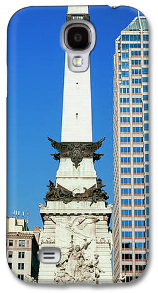 Monument In A City, Soldiers Galaxy S4 Case by Panoramic Images