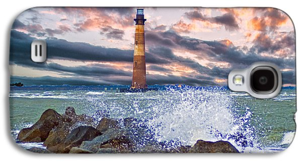 Morris Island Lighthouse Galaxy S4 Case by Bill Barber