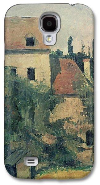 Moulin De La Couleuvre At Pontoise Galaxy S4 Case by Paul Cezanne
