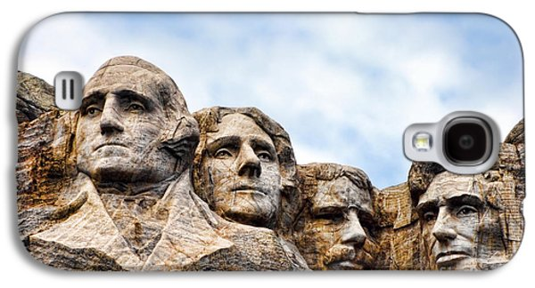 Mount Rushmore Monument Galaxy S4 Case by Olivier Le Queinec