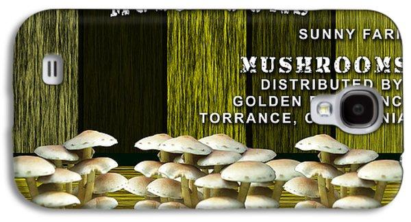 Mushroom Farm Galaxy S4 Case by Marvin Blaine