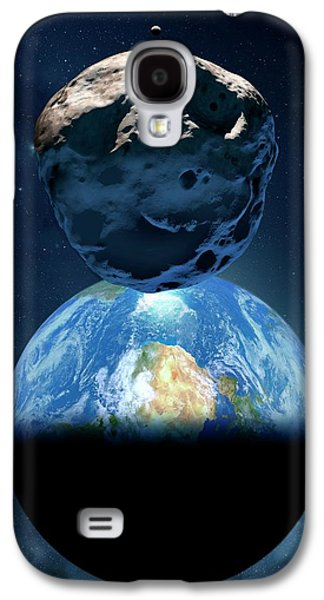 Near-earth Asteroid Galaxy S4 Case by Detlev Van Ravenswaay