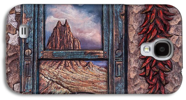 New Mexico Window Galaxy S4 Case by Ricardo Chavez-Mendez