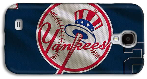 New York Yankees Derek Jeter Galaxy S4 Case by Joe Hamilton