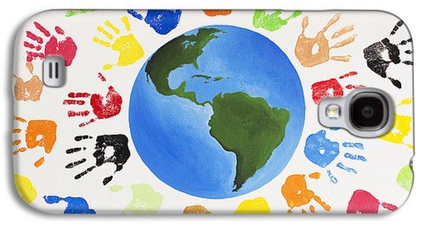 One World Galaxy S4 Case