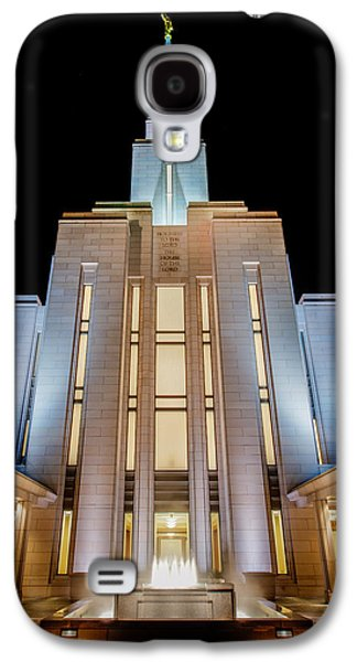 Oquirrh Mountain Temple 1 Galaxy S4 Case