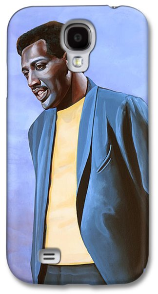 Otis Redding Painting Galaxy S4 Case by Paul Meijering