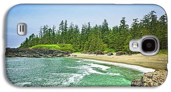 Pacific Ocean Coast On Vancouver Island Galaxy S4 Case