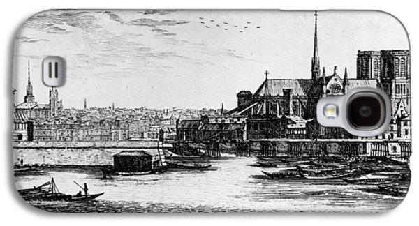 Paris Notre Dame, 1600s Galaxy S4 Case by Granger