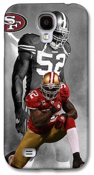 Patrick Willis 49ers Galaxy S4 Case by Joe Hamilton