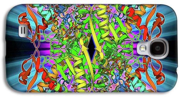 Phosphofructokinase Bacterial Enzyme Galaxy S4 Case by Laguna Design
