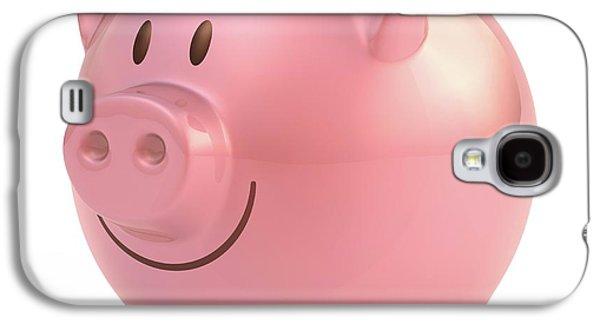 Piggy Bank Galaxy S4 Case by Ktsdesign