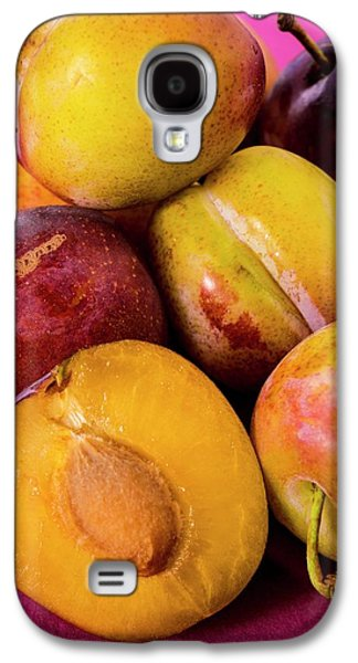 Plums Galaxy S4 Case by Aberration Films Ltd