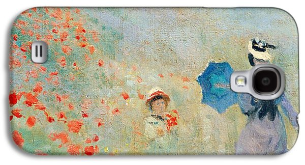 Poppies At Argenteuil Galaxy S4 Case by Claude Monet