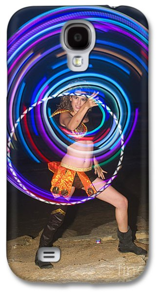Psychedelic Hula Hoop Galaxy S4 Case by Ilan Rosen