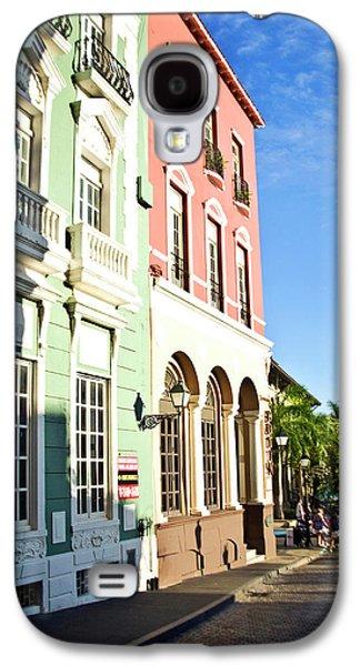 Puerto Rico, Old San Juan, Street Galaxy S4 Case by Miva Stock