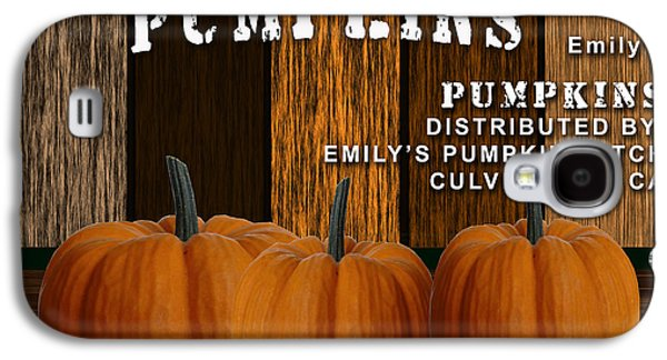 Pumpkin Patch Galaxy S4 Case