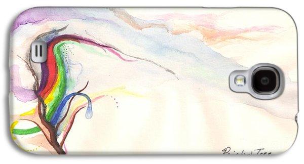 Rainbow Tree Galaxy S4 Case by Rod Ismay