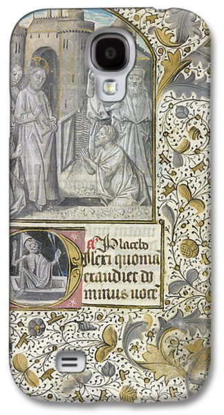 Raising Of Lazarus Galaxy S4 Case by British Library