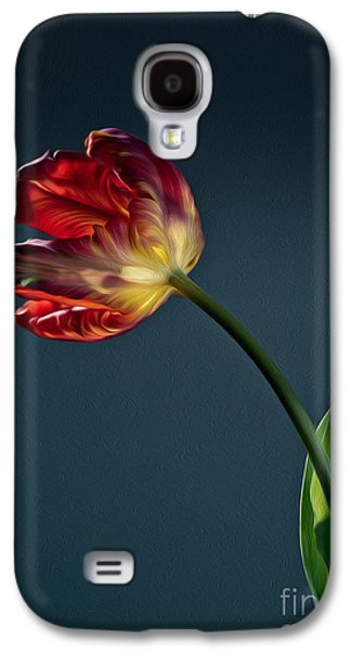 Red Tulip Galaxy S4 Case
