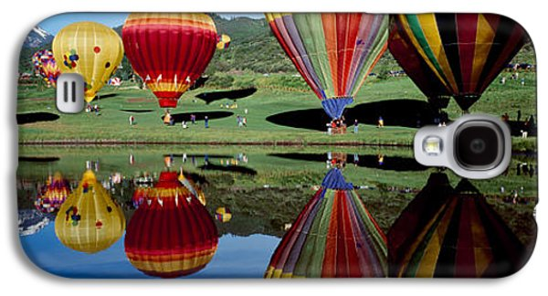 Reflection Of Hot Air Balloons Galaxy S4 Case