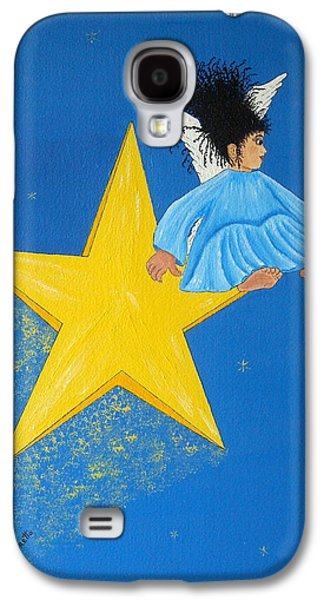 Ride A Shooting Star Galaxy S4 Case by Pamela Allegretto