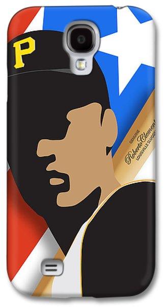 Roberto Clemente Galaxy S4 Case