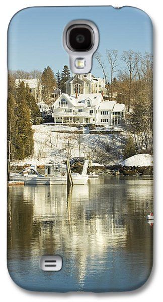 Rockport In Winter On The Coast Of Maine Galaxy S4 Case