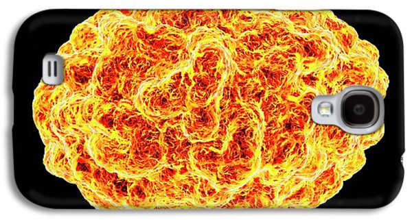 Smallpox Virus Galaxy S4 Case by Mehau Kulyk