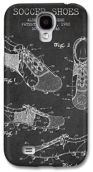 Soccershoe Patent From 1980 Galaxy S4 Case by Aged Pixel