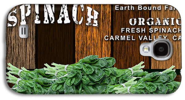 Spinach Patch Galaxy S4 Case