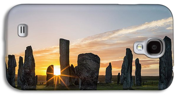 Standing Stones Of Callanish Galaxy S4 Case by Martin Zwick