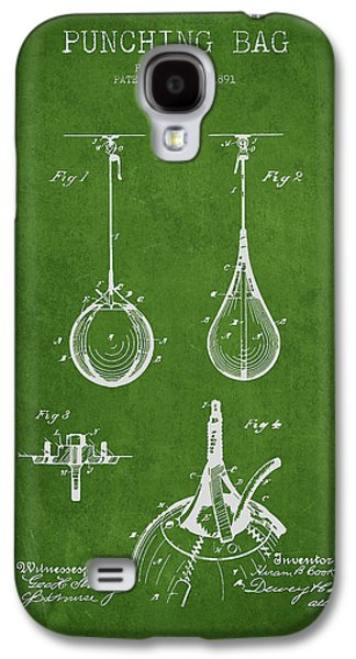 Striking Bag Patent Drawing From1891 Galaxy S4 Case