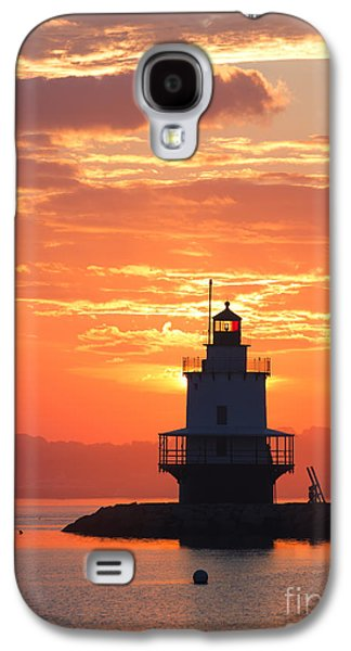 Sunrise At Spring Point Lighthouse Galaxy S4 Case by Diane Diederich
