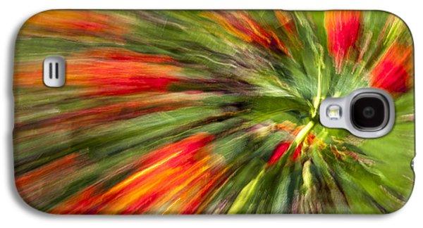 Swirl Of Red Galaxy S4 Case
