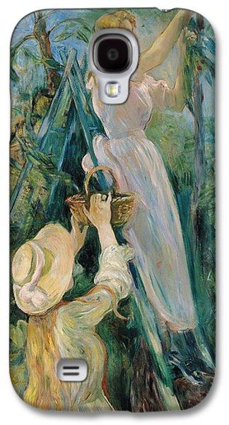 The Cherry Picker  Galaxy S4 Case by Berthe Morisot