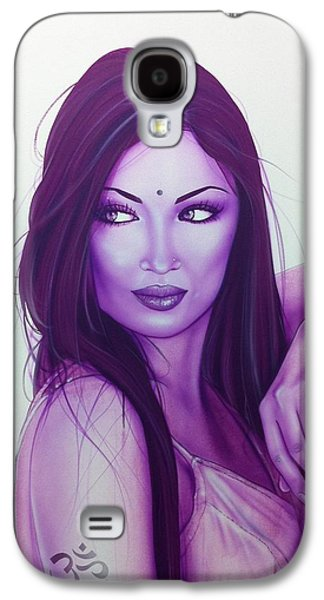 Portrait - ' The First Breath Of Creation ' Galaxy S4 Case