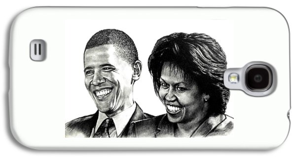 The Obama's Galaxy S4 Case by Todd Spaur