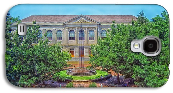 The Old Main - University Of Arkansas Galaxy S4 Case by Mountain Dreams