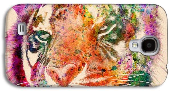 Tiger Portrait  Galaxy S4 Case