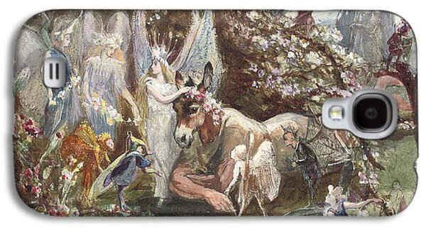 Titania And Bottom Galaxy S4 Case by John Anster Fitzgerald