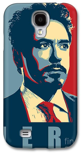 Tony Stark Galaxy S4 Case by Caio Caldas