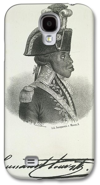 Toussaint Louverture Galaxy S4 Case by British Library