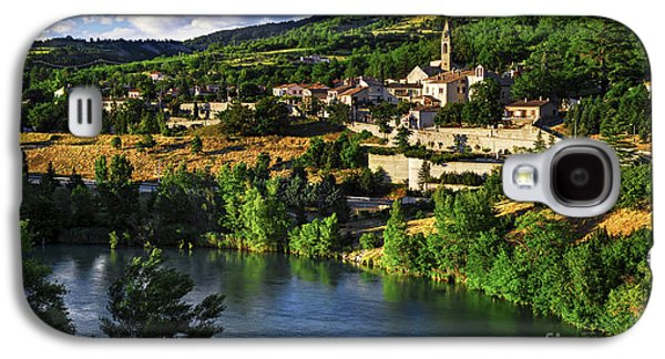 Town Of Sisteron In Provence Galaxy S4 Case by Elena Elisseeva