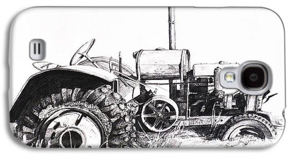 Tractor Galaxy S4 Case