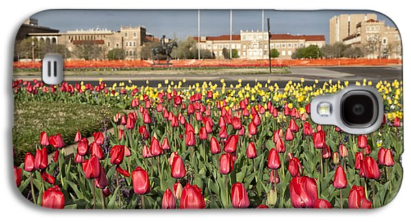 Tulips At Texas Tech University Galaxy S4 Case
