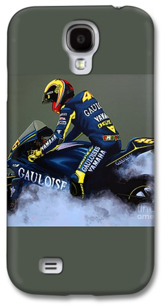 Valentino Rossi Galaxy S4 Case by Paul Meijering