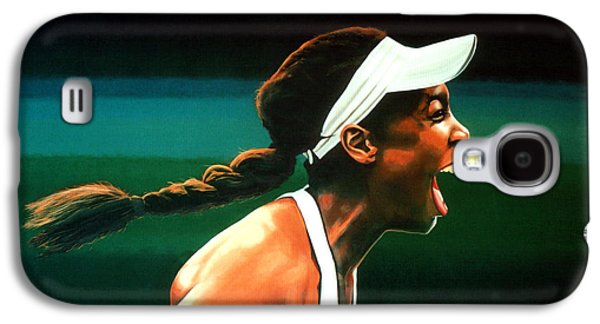 Serena Williams Galaxy S4 Case - Venus Williams by Paul Meijering