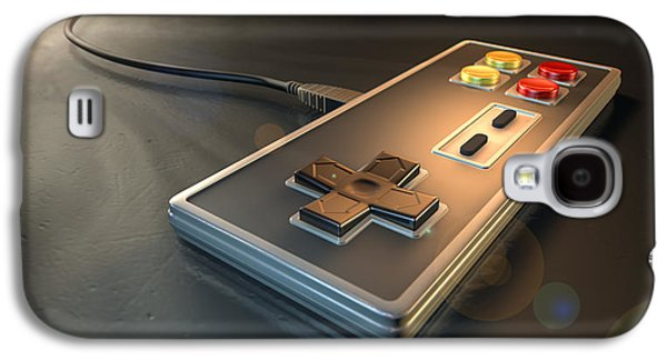 Vintage Gaming Controller Galaxy S4 Case by Allan Swart